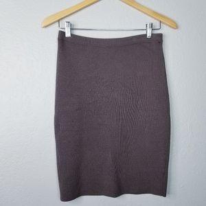 Eileen Fisher Knit Silk cotton Pencil Skirt